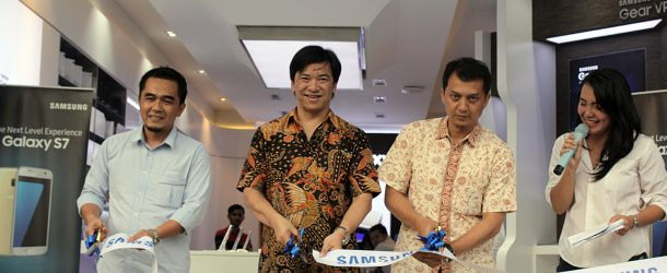 Grand Opening Samsung  Experience Store Sukabumi